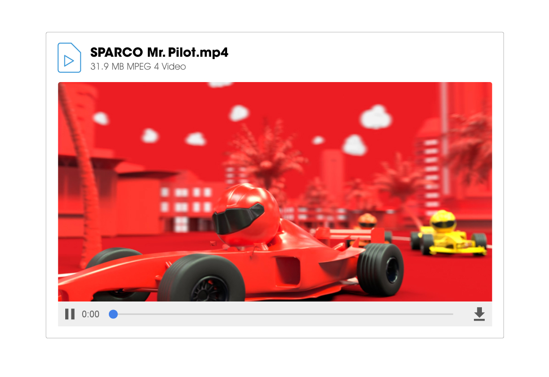 SPARCO MR. PILOT - NEW VIDEO1